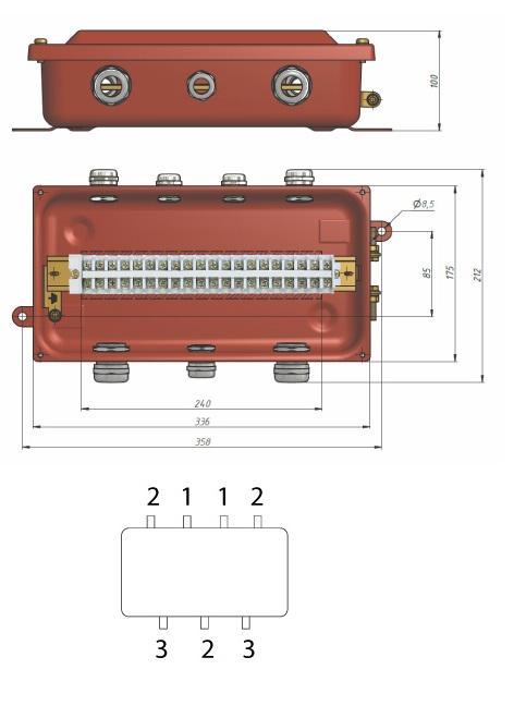 коробка У615